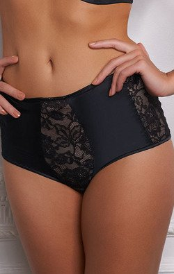 Panache Harem High Waist Black Figi