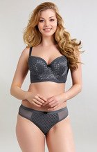 Panache Cleo Spencer Steel Grey Biustonosz