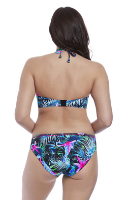 Freya Jungle Flower Bandeau Bikini Biustonosz